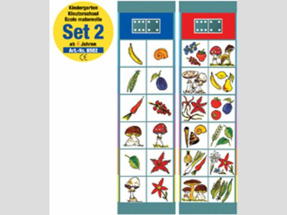 Flocards Kartenset 1-2-3-4. Vier Kartensets mit Übungen für Kinder von 3-6 Jahren
