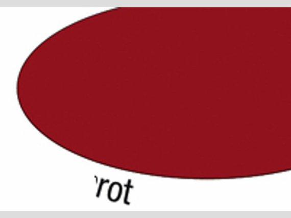 Gejokarton dunkel rot 20 Blatt 50x70cm.