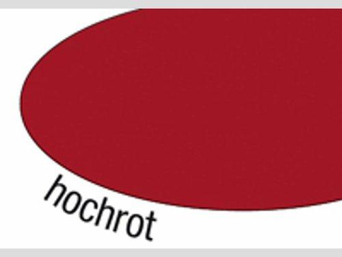 Tonpapier je 20 Blatt rot 50x70cm.
