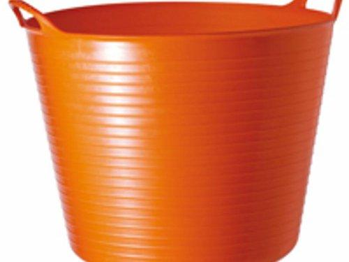 Tubtrug emmer 26 ltr. oranje