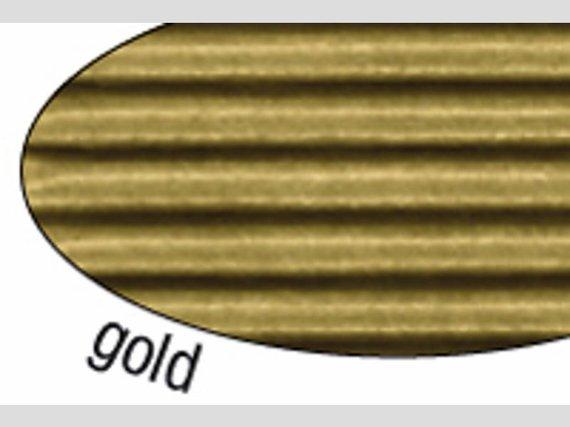 Golfkarton 10 vel 50 x 70 goud
