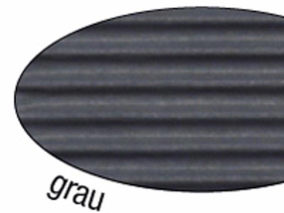 Wellpappe grau 10 Blat grau