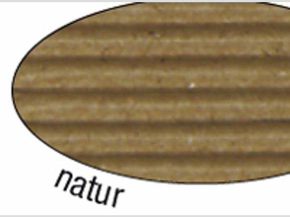 Wellpappe natur 10 Blatt 50x70cm.