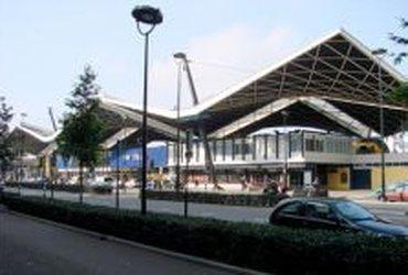 NS stationsgebouw, Tilburg