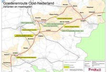 Programma Hoogfrequent Spoorvervoer Goederenroutering Oost-Nederland, Arnhem