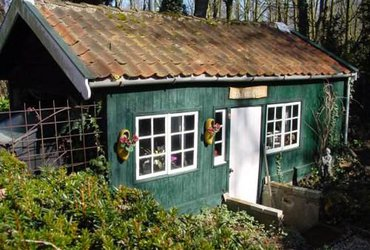 Hut van Frederik Van Eeden Bussum