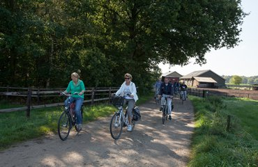 Wandelen met de boswachter, thema: boerderijenfietstocht Winterswijk