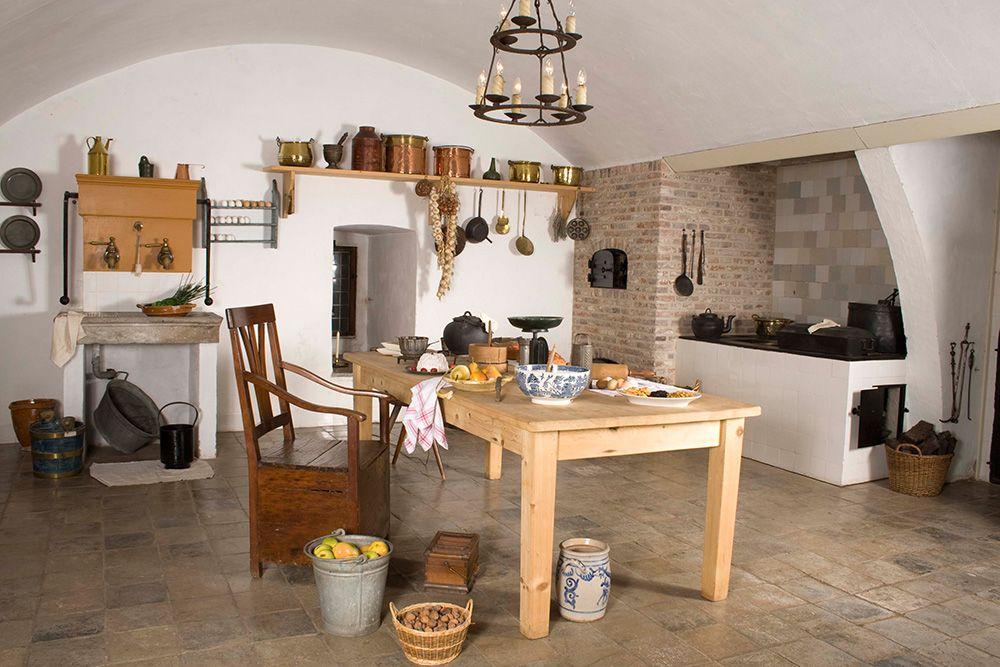 Keuken in Kasteel Doorwerth