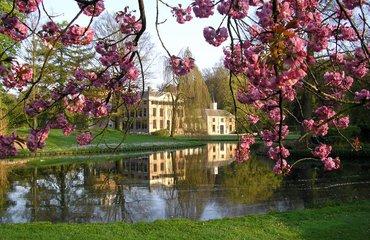 bloesem bij kasteel Rosendael