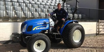 New Holland Boomer 50 afgeleverd