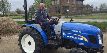 New Holland Boomer 30 afgeleverd