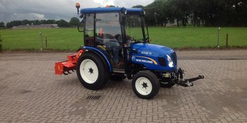New Holland Boomer 35 CAB afgeleverd