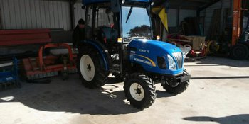 New Holland Boomer 35 CAB afgeleverd
