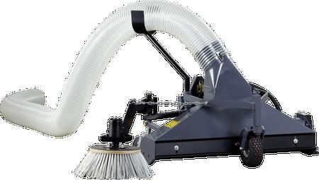 Front blad- veeg/zuig machine LRM-HY 120