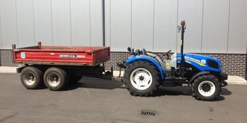 New Holland T3.65F afgeleverd