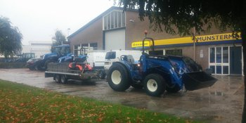 New Holland T3030 Upgrade afgeleverd