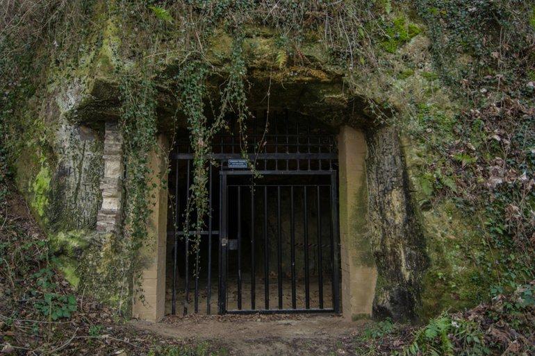 Ingang van de Koelebosch-Groeve