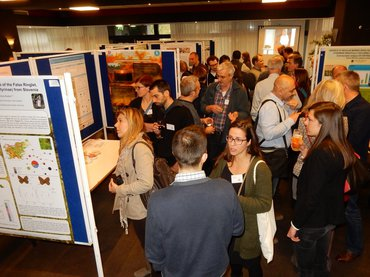 Poster session at the Future 4 Butterflies symposium in Wageningen