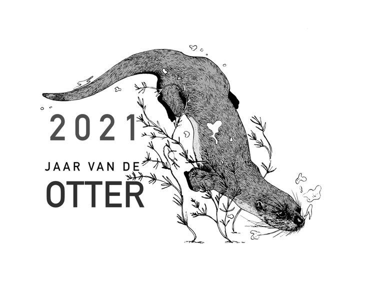 Logo 2021 Jaar van de Otter