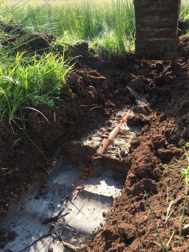 Drainagebuizen deden ooit dienst onder landbouwgrond