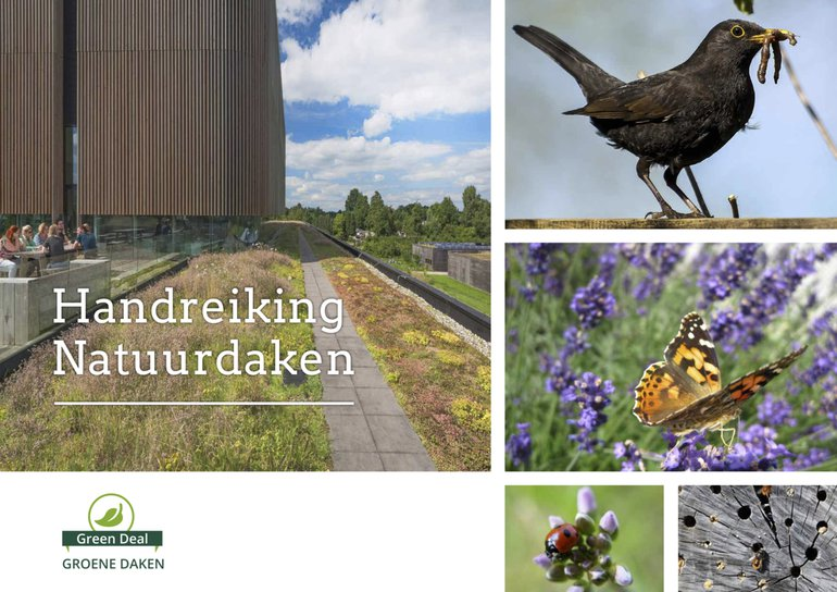 Cover 'Handreiking Natuurdaken'