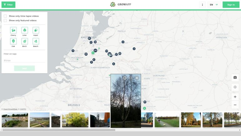 Screenshot www.growapp.today