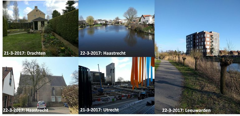 Diverse locaties in de GrowApp