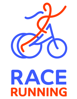 Logo race running