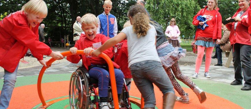 Speeltuinbende in Beestenborg, opening