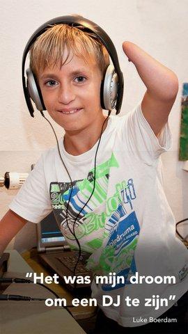 Het was mijn droom om een DJ te zijn