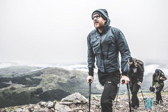 Berg beklimmen MichaelRobbert Brans