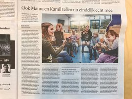 Artikel in Trouw over Stichting Kanz