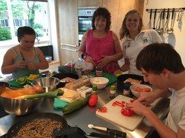 Jongeren koken