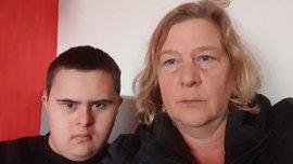 Michel en moeder Sandra