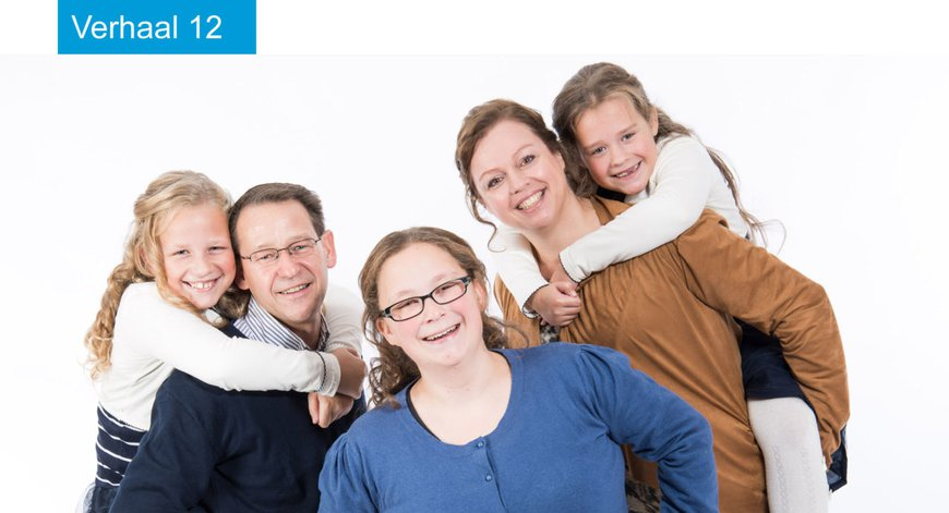 Familie Klootwijk genoot van hun vakantie bij Tante Lenie