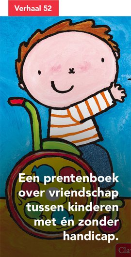 Een prentenboek over vriendschap tussen kinderen met én zonder handicap