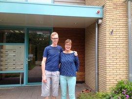 Jurre en zijn moeder