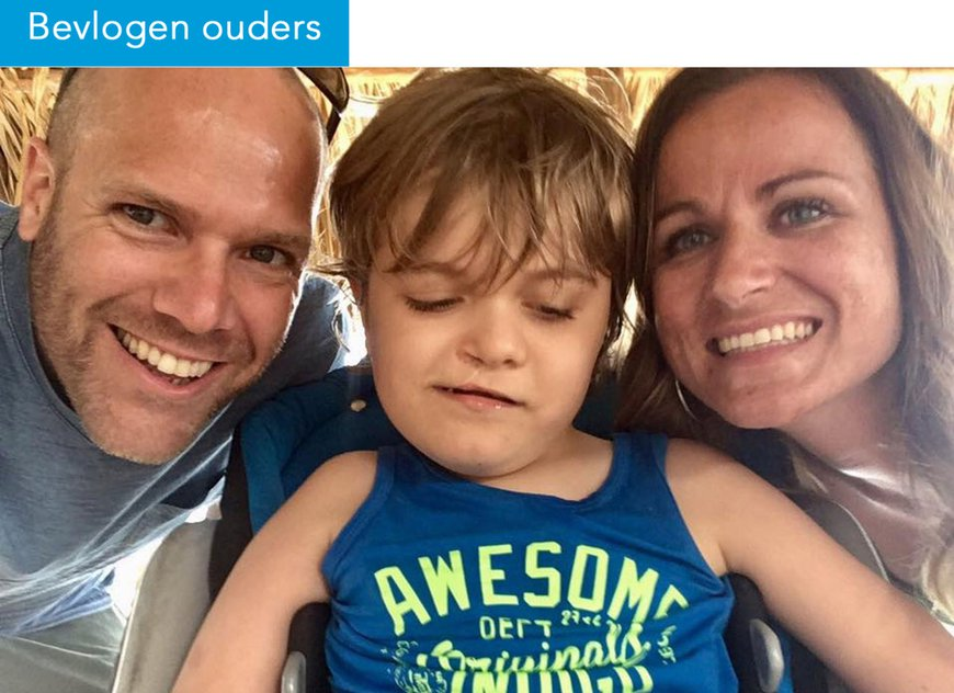 Bevlogen ouders - Marjon, Mark en Bram
