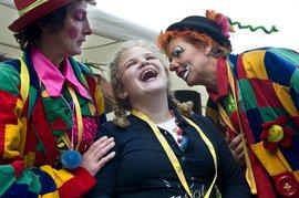 NSGK kinderambassadeur Pien opent Kermis voor gehandicapten
