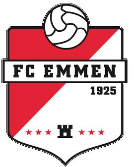 Logo FC Emmen voetbalclub