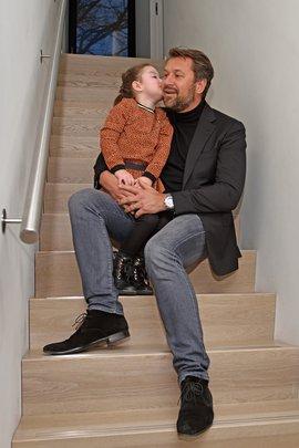 Nilla en vader Mark