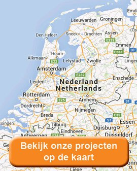 Bekijk onze projecten op de kaart