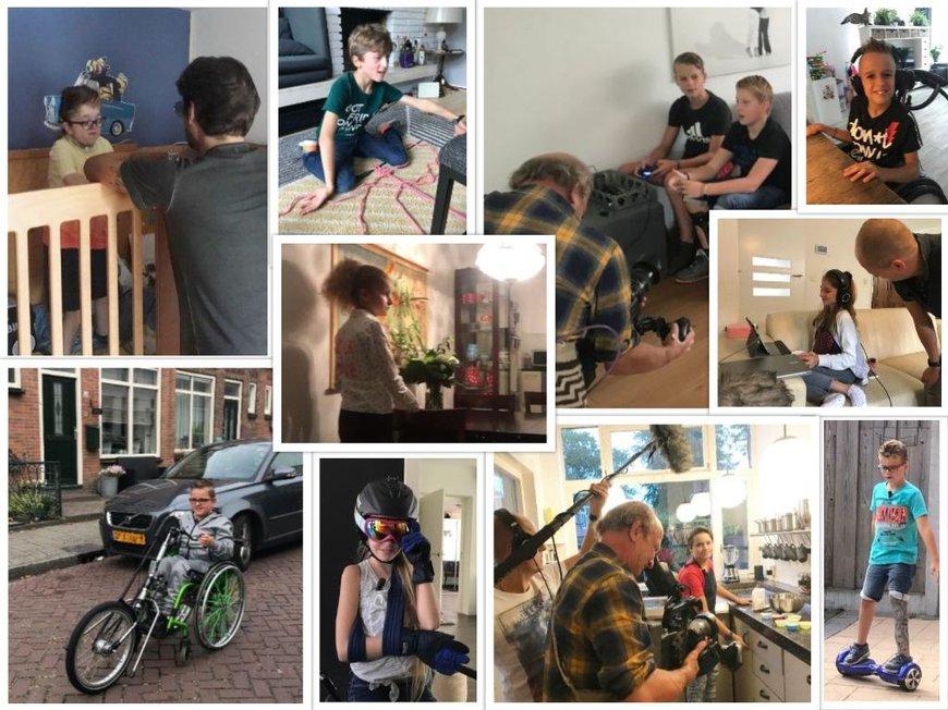 Onze 10 kandidaat-kinderambassadeurs in collage