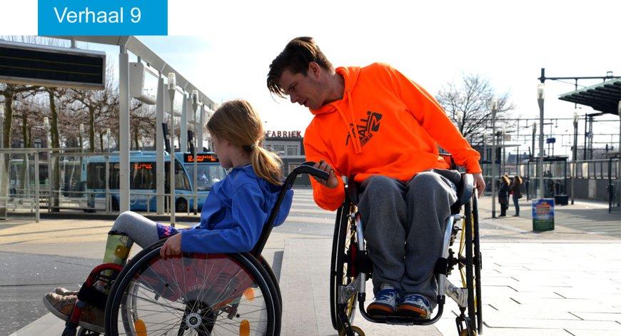 De rolstoelvaardigheidstraining van Kees-Jan van der Klooster geeft kinderen zelfvertrouwen