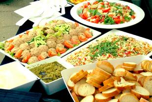 Diner buffet aan huis