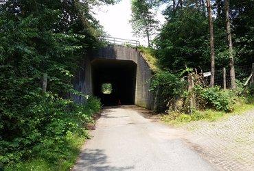 Tunneltje onder A12