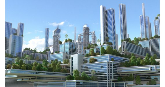 stad van de toekomst / shutterstock