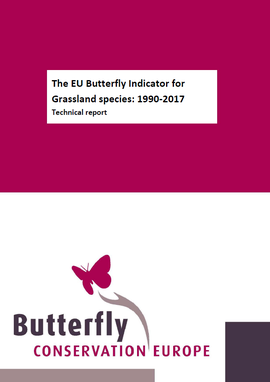The EU Butterfly Indicator for Grassland species 1990-2017